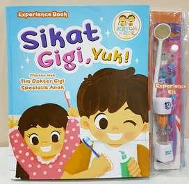 Buku Interaktif Sikat Gigi Yuk!