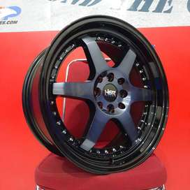 VELG RACING MODEL TERBARU RING 17X75-85 PCD 8X100-114 TYPE BORGO