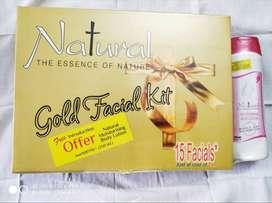 Natural Gold Facial kit
