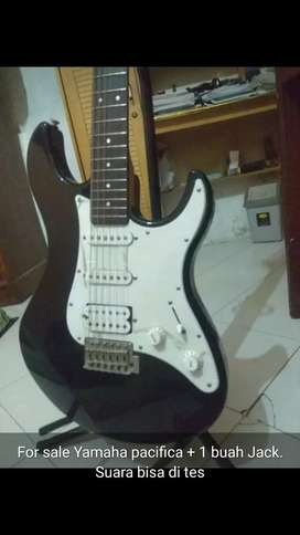 Gitar elektrik ORI Yamaha pacifica like new