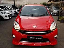 Tdp 12 Juta Toyota Agya 1.0 TRD AT Matic 2015 Merah ASTINA MOBIL