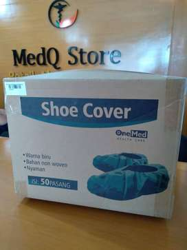Disposable Shoe cover/pelindung sepatu isi 50 pasang