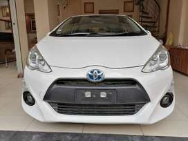 Toyota Aqua 2015 on Easy EMI Process 20%D.P One Step Solution Pvt.Ltd