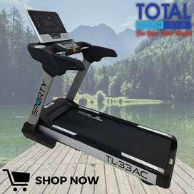 Treadmill Elektrik TL 33 AC total fitness bisa cod komersil