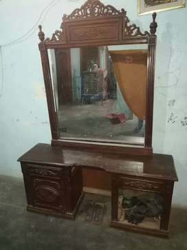 Pure wooden chinioti Dressing table