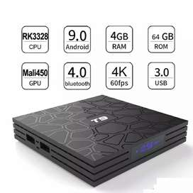 T9 4k android tv box version 9.0