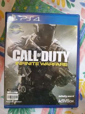 Call of Duty Infinite Warfare PS4