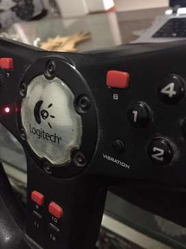 Logitech Steering with vibration