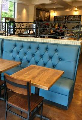 Brand new restaurant sofa & dining