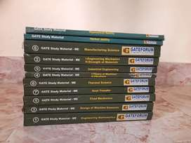 GATE Mechanical Study Material complete set