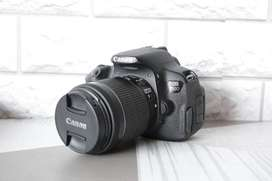 Ready Second Kamera Canon 700D Kit 18-55 IS STM Full Set
