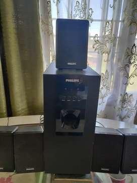 Philips 5.1 home theater (Speaker)
