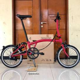 BROMPTON S6L HOUSE RED BLACK EDITION CUSTOM 2020