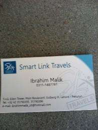 Smart Link TRAVEL & TOURS SERVICES  AT. WITH  BEST PRICE IN LAHORE.