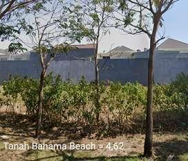 Tanah Bahama Beach Pakuwon City dkt kenjeran, mer, ITS surabaya jatim