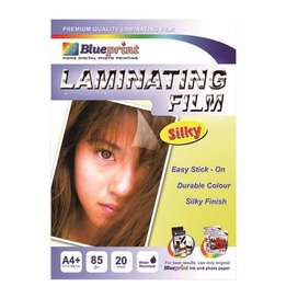 Laminating Film Glossy & Silky / doff Blueprint