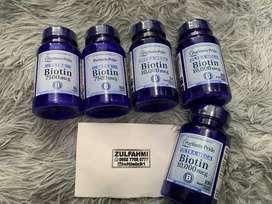 Suplement Biotin mempercepat proses pertumbuhan brewok dan rambut