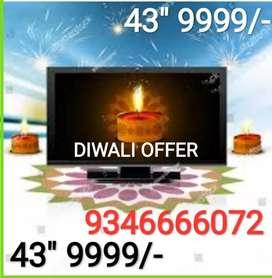 "IPL SPL. OFFER 43"" LED TV FULL HD // 1+2 YRS WARRANTY WITH BILL"