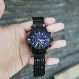 Jam Tangan Chronomaster Islander Black Dial