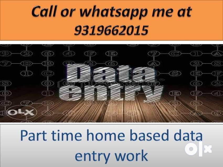 Offline Simple COMPUTER work DATA ENTRY part time home based job 0