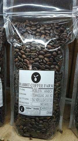 roastbean robusta kopi temanggung murni 0