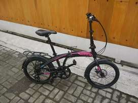 Sepeda Lipat Pacific 2980 RX 5.0 DB Roda 20inch