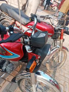 One hand used .10%10 honda 70 2019 modal