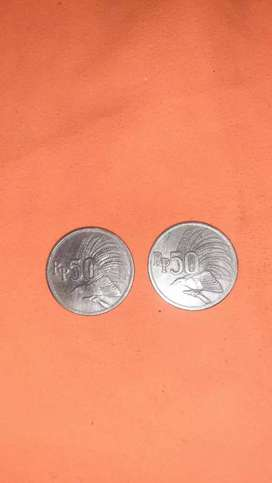 Uang logam  koleksi