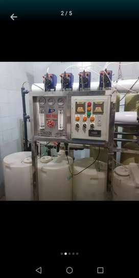 Minrel water filter plant