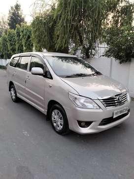 Toyota Innova 2.5 GX (Diesel) 7 Seater BS IV, 2013, Diesel