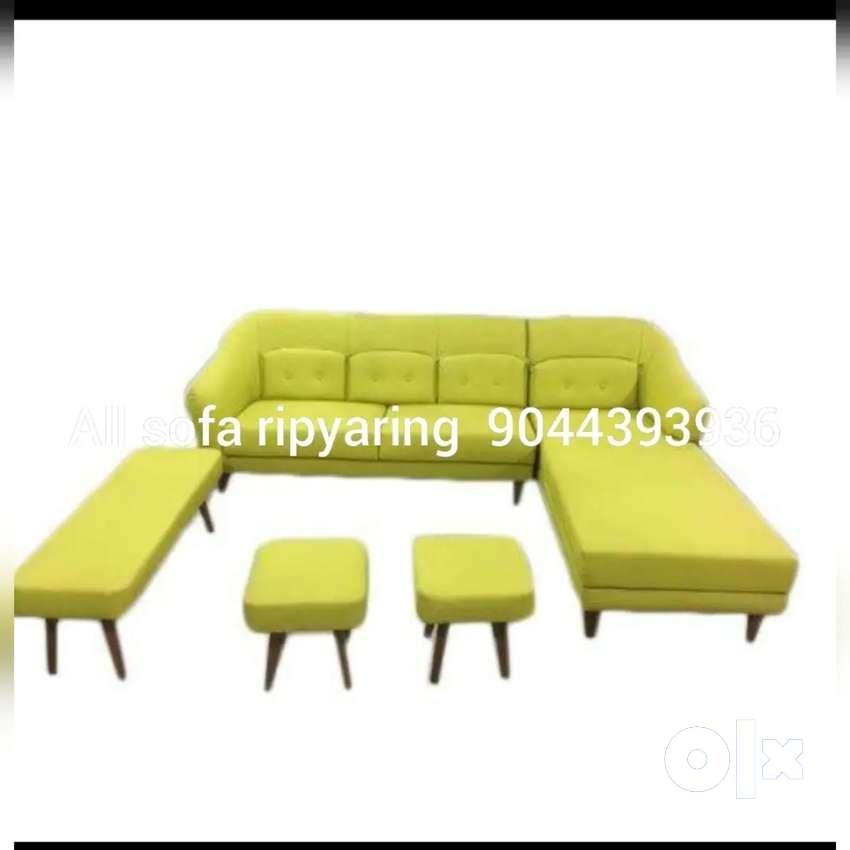 All sofa new & reptaring 0