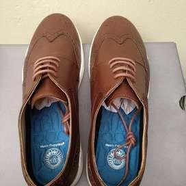 Sepatu Hush Puppies Asli Kulit nomor 41 & 42