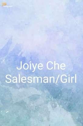 Ladies Garments Store Salesman/Girl.