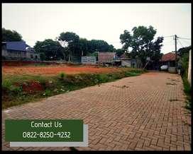 Tanah Kavling Murah, Jalan Paving Blok, Akses Terdekat Cinere