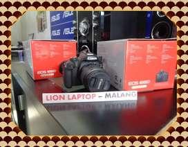 Second Kamera DSLR CANON EOS 4000D Fullset Kit 18-55mm IS III