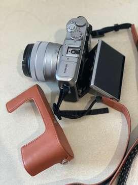 Kamera Fuji Film X A5 kondisi mulus jarang pakai
