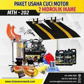"PAKET CUCI MOTOR ""2 HIDROLIK"" MTH-202 IKAME,Pusat Hidrolik Mobil Motor"