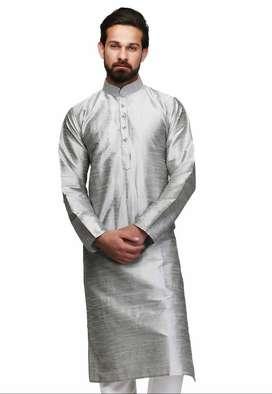 Silk Kurta Size L