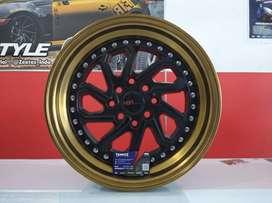 jual velg mobil original hsr wheel ring 15 untuk agya mirage march