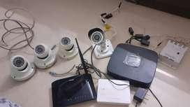 Camera with dvr