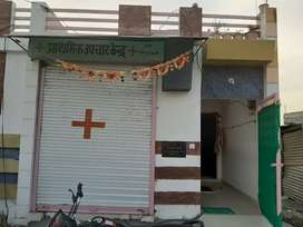 1 shop,1bedroom 1hall,two bathroom ,self boring, newly constructed