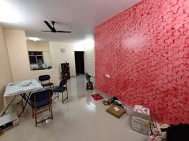 Three bedroom furnished flat for rent in shapoorji housing complex