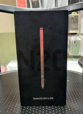 Samsung Galaxy Note 20 Ultra 5G 12GB brand new sealed 1year Warranty