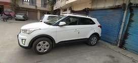 Hyundai Creta 2017 Diesel 48000 Km Driven white Stepney unused  9l