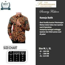 A002 COD Bayar Di Tempat Promo Gratis Onkir Batik Blouse Batik Sweater