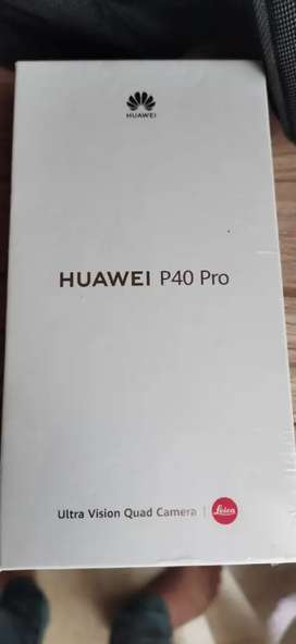 Huawei p40 pro 5g 512gb limited edition box pack