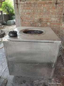 Steel tandoor 36*36 inch