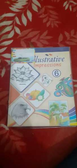 ILLSTRATIVE IMPRESSIONS PART 6 (Drawing Book)