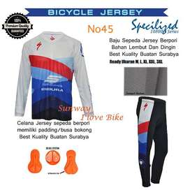 AF141 Harga Promo COD Setelan Baju Dan Celana Sepeda Gratis Onkir