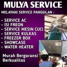 Service Showcase Kulkas Ac Freezer Box Mesin Cuci